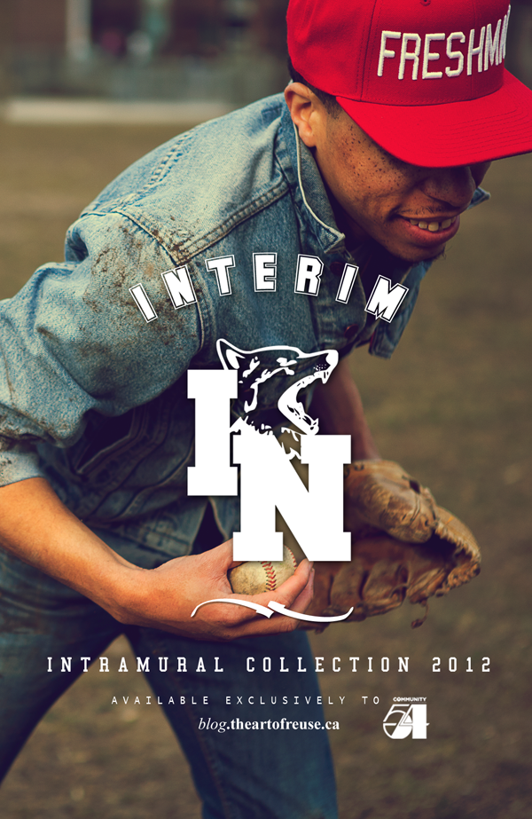 INTRAMURAL STARTER VERTICAL POSTER STYLE: the art of reuse™ x Community 54 x The Intramural Collection