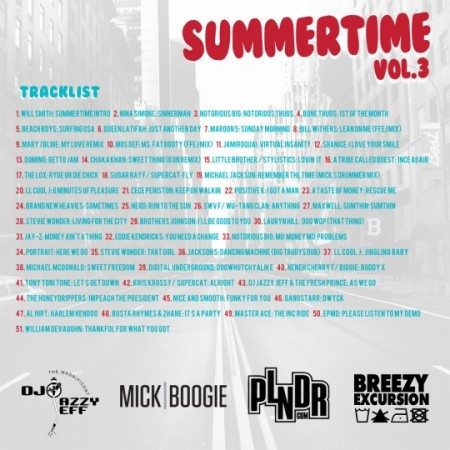 summertime3 back DOWNLOAD: DJ Jazzy Jeff x Mick Boogie   Summertime 3