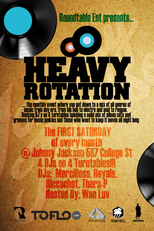 HRXjohnny front EVENT: Saturday May 4   Heavy Rotation @ JOHNNY JACKSON