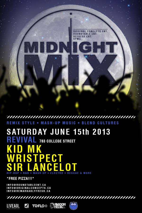 midnight mix june 15 EVENT: Saturday June 15   Midnight Mix @ REVIVAL