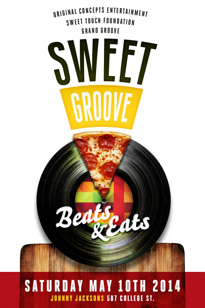 Sweet Groove FLYER front