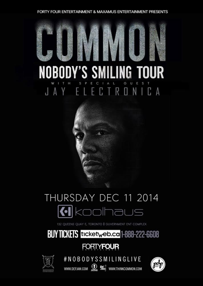 unnamed EVENT/CONTEST: Thursday Dec. 11   Common with Special Guest Jay Electronica @ KOOLHAUS
